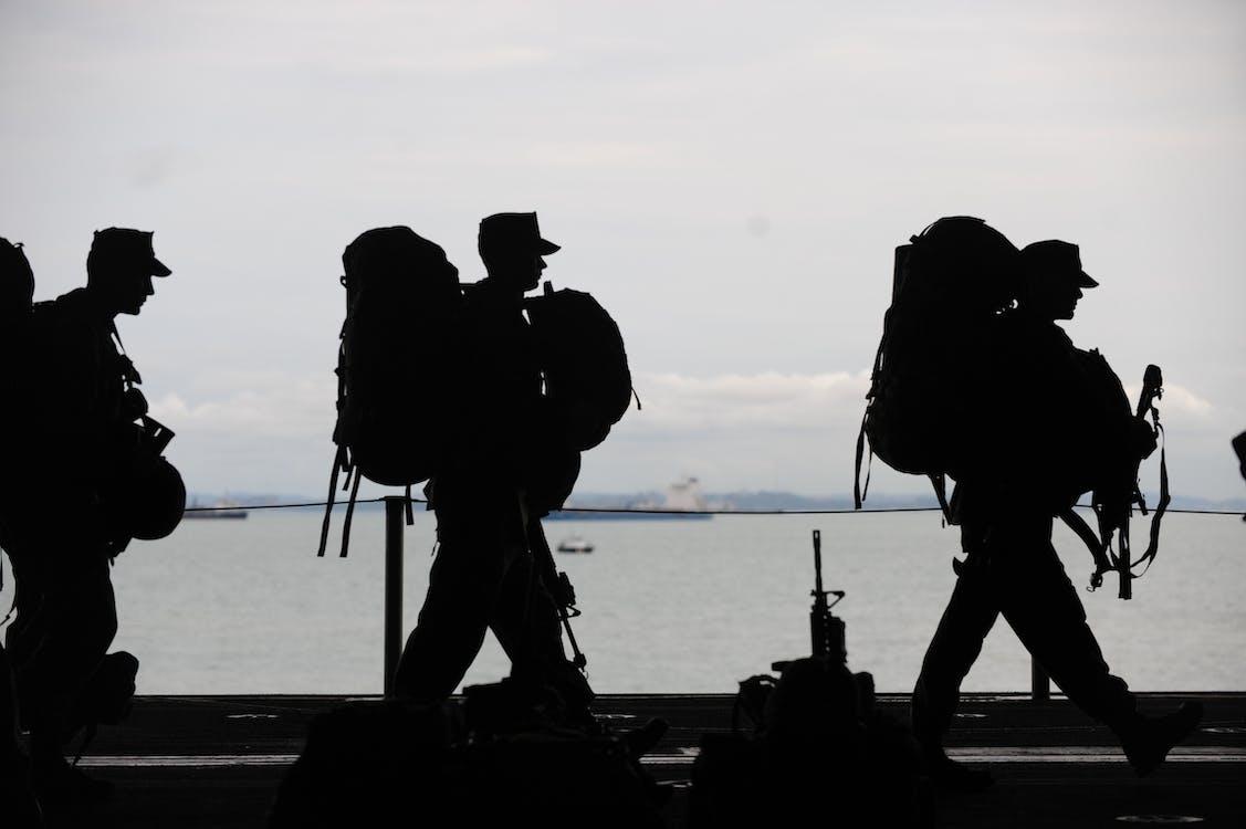 人, 士兵, 戰爭
