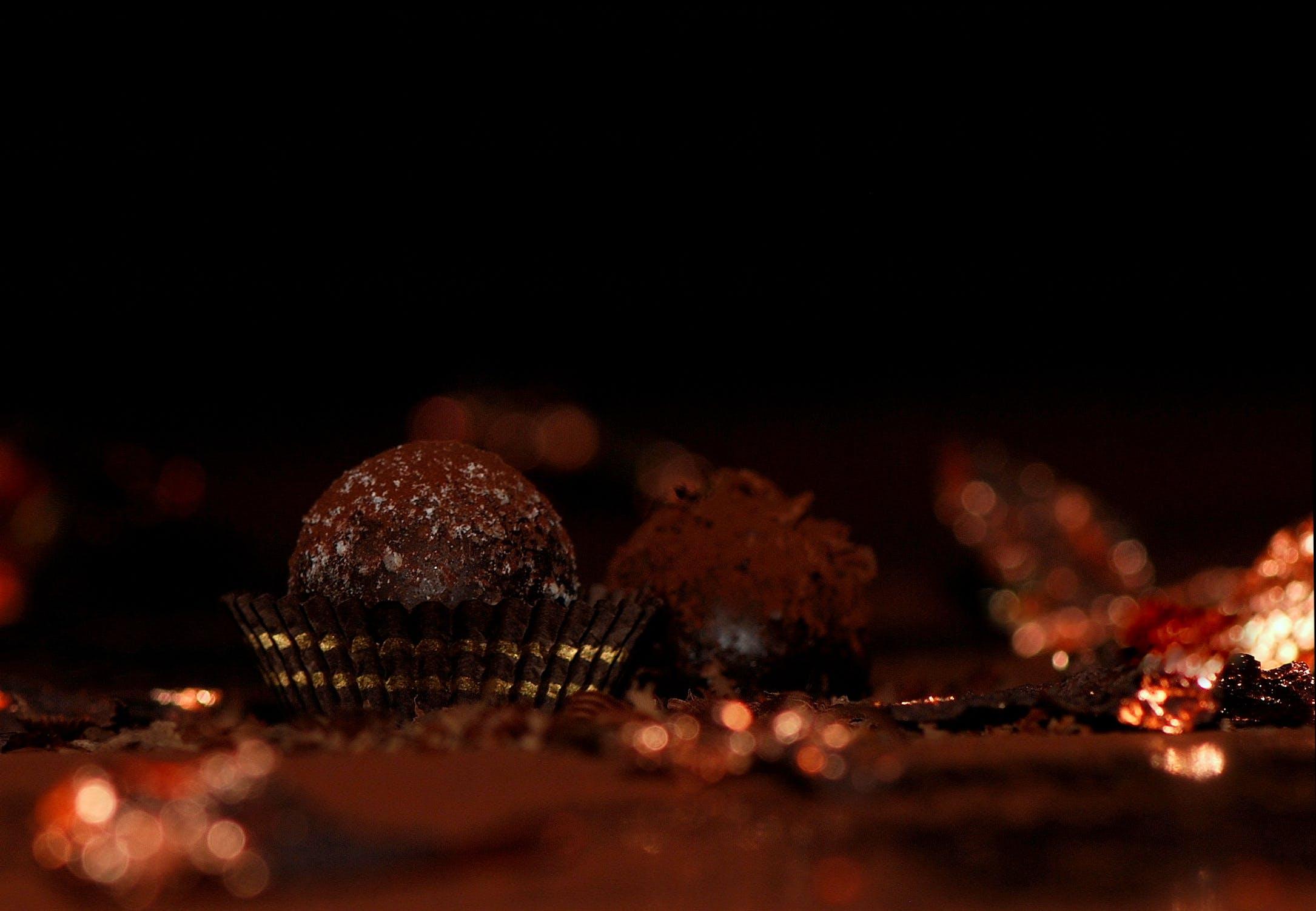 Бесплатное стоковое фото с еда, какао, сладости, шоколадные конфеты