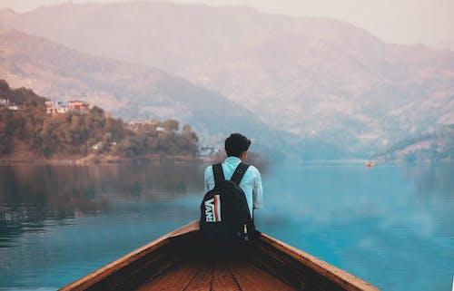 Immagine gratuita di acqua, alba, avventura