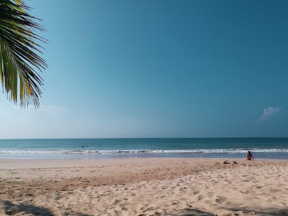 baie, beau, bord de mer
