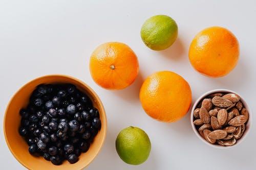 Δωρεάν στοκ φωτογραφιών με yummy, αμύγδαλα, βατόμουρα, γευστικός