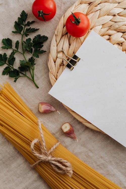 Foto profissional grátis de alho, alimento, clipe de papel, comida