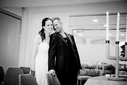 Free stock photo of bride and groom, wedding, wedding dress