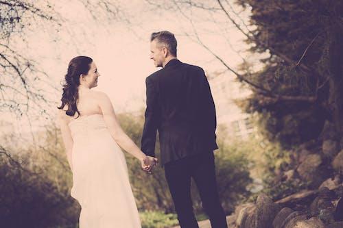 Free stock photo of bride and groom, wedding
