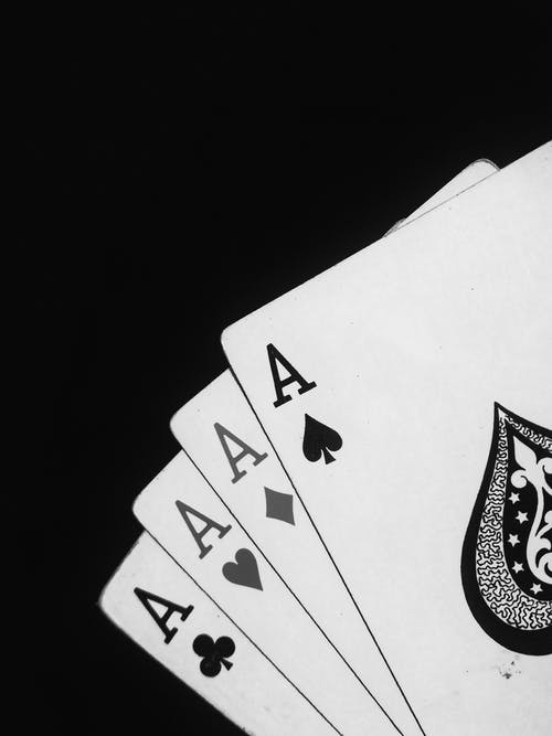 Four Aces Playing Cards