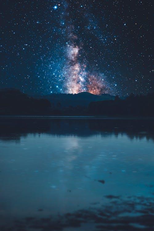 강, 밤샘, 실 헤타, 에스트 렐라의 무료 스톡 사진