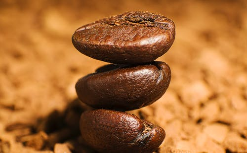 Brown Coffee Beans in Close Up Photography