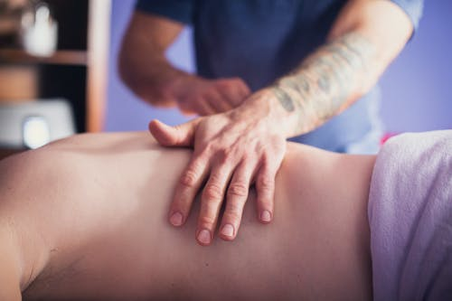 Getting Back Massage