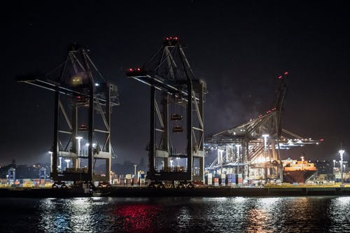 Free stock photo of auckland, city night, dock