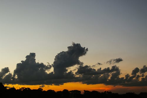 Clouds and Sky during Sunset