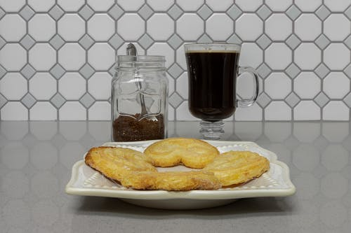 Free stock photo of black coffee, coffee, cookies