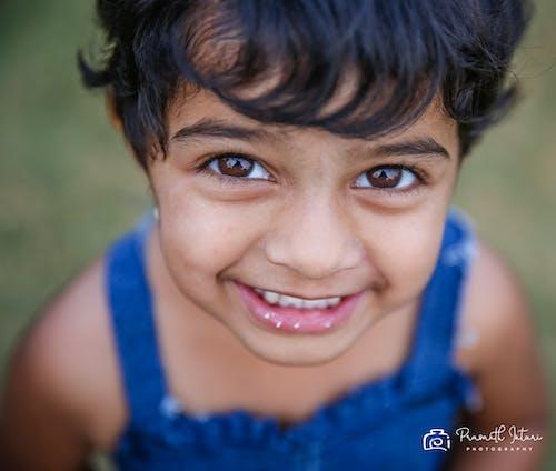 Free stock photo of baeutiful eyes, beautiful smile, brown eyes, eyes