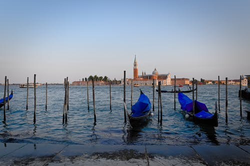 Free stock photo of gondolas, veneto, venezia, venice
