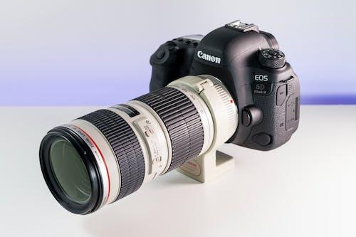 Free stock photo of attrezzatura fotografica, attrezzature fotografiche, build della fotocamera, canon