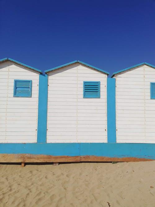 Immagine gratuita di γαλαζια θαλασσα, μπλε, μπλε πόρτα