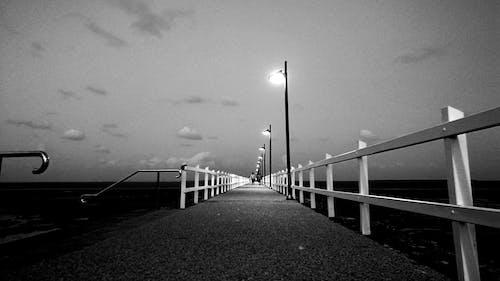 คลังภาพถ่ายฟรี ของ #jetty #evening #ocean #bayside #beach #afterdark