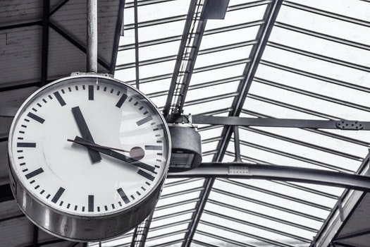 Free stock photo of time, train station, clock, deadline
