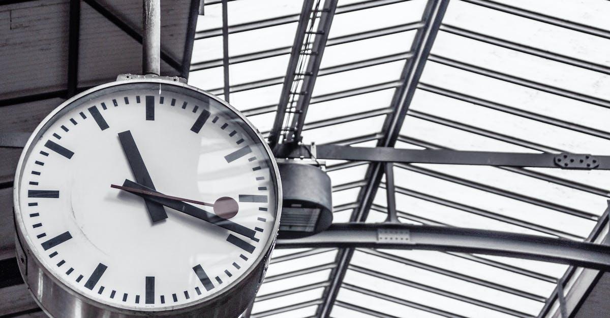 Free Stock Photo Of Clock Deadline Departure