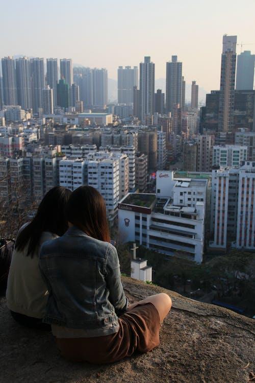 Foto profissional grátis de cidade, de volta, edifícios