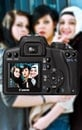 camera, taking photo, girl