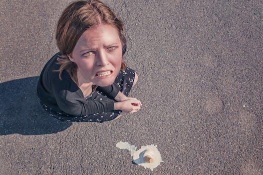 Free stock photo of woman, dropped, fail, failure