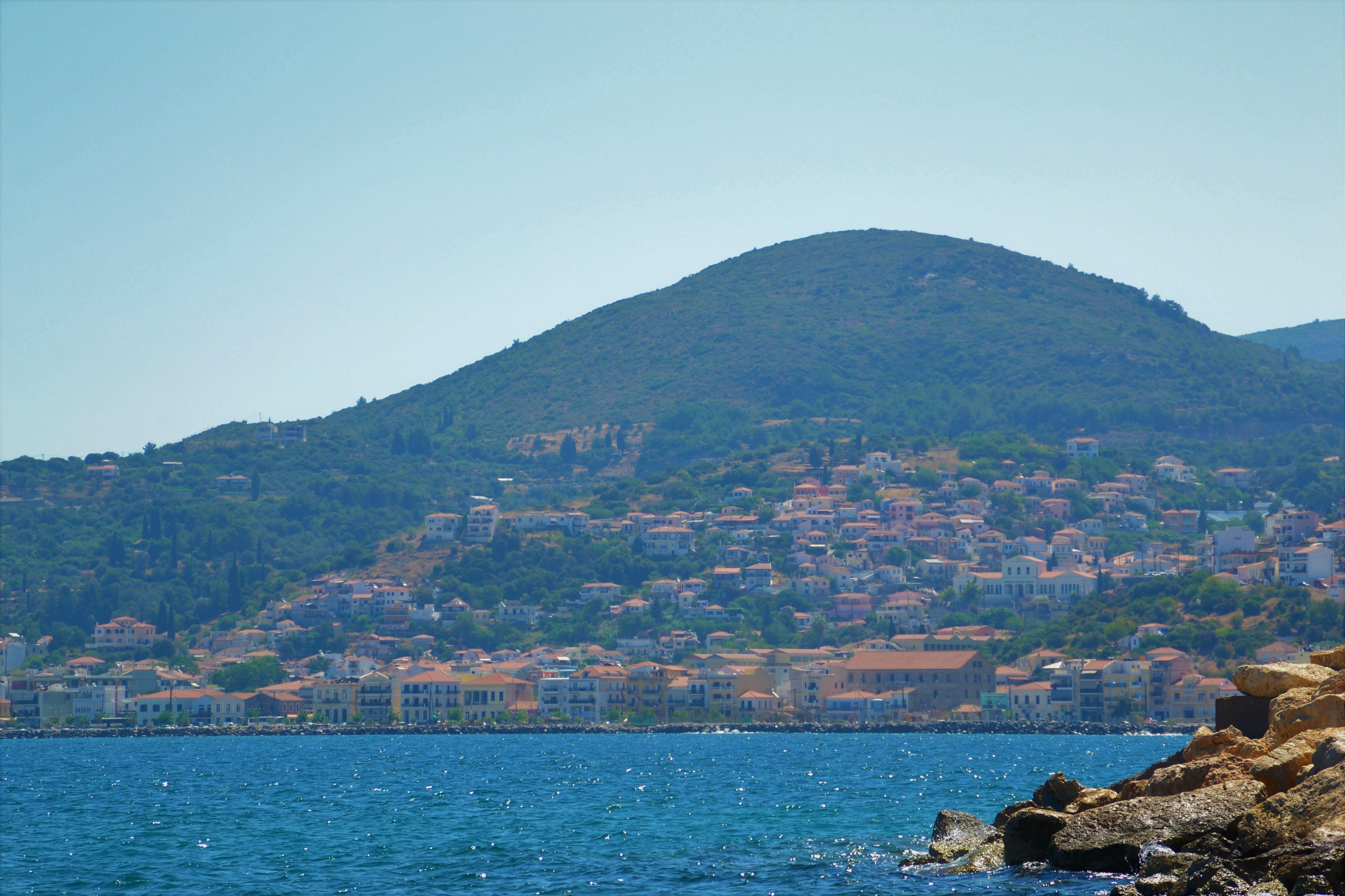Free stock photo of island, mediterranean sea, mountain, ocean