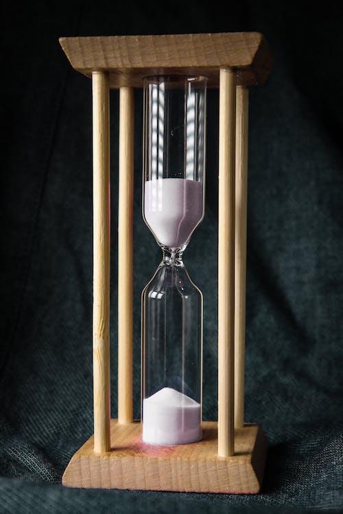 倒數, 時間, 木製框 的 免費圖庫相片