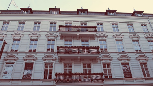 Free stock photo of oldtown, townhouse, renovated