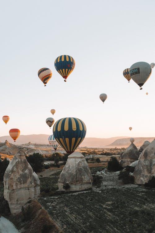 Fotobanka sbezplatnými fotkami na tému atraktívny, balón, cappadocia, cestovať