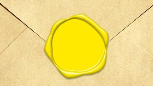 Fotobanka sbezplatnými fotkami na tému obálka, pečiatka, žltá