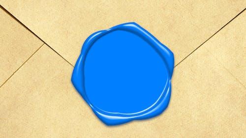Fotobanka sbezplatnými fotkami na tému modrá, obálka, pečiatka