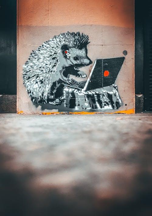 Immagine gratuita di animale, arte, arte di strada