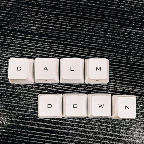 Free stock photo of black, calm, calm down
