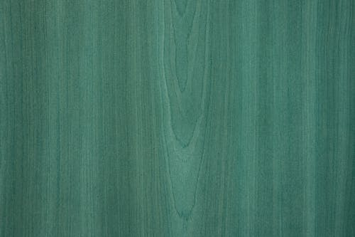 Green Wooden Surface