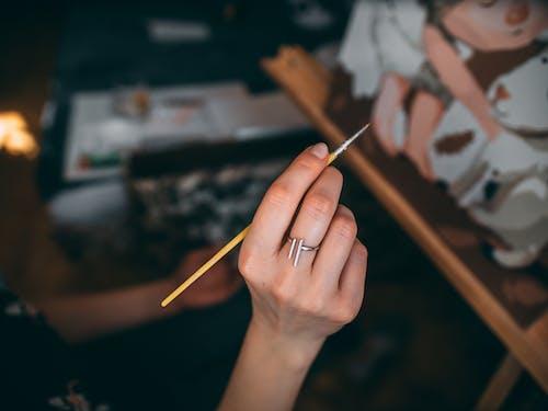 Darmowe zdjęcie z galerii z akwarela, anonimowy, artysta, barwnik