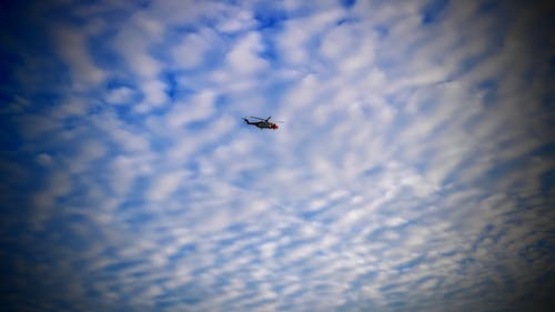 Free stock photo of coast guard, rescue helicopter