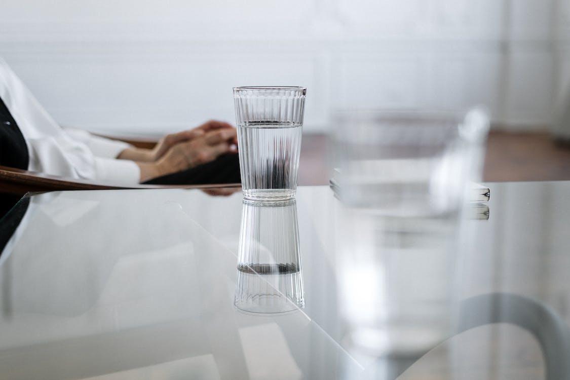 Foto profissional grátis de água, close, copo