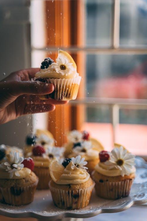 Δωρεάν στοκ φωτογραφιών με muffins, yummy, αλοιφή