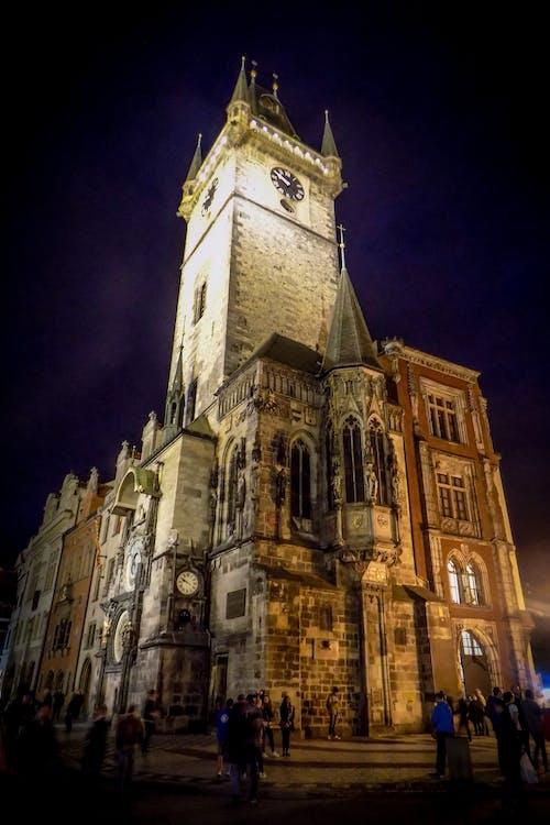Free stock photo of city night, czech republic, night life
