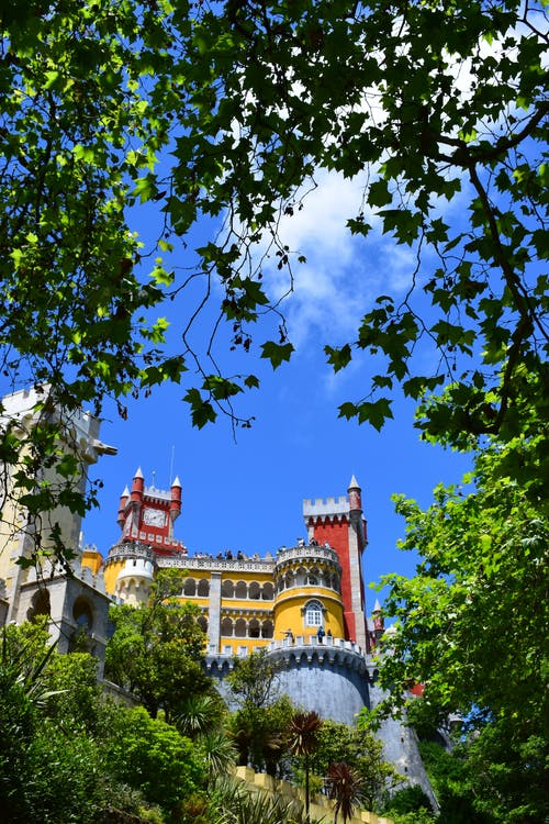 Free stock photo of destination, palace, portugal
