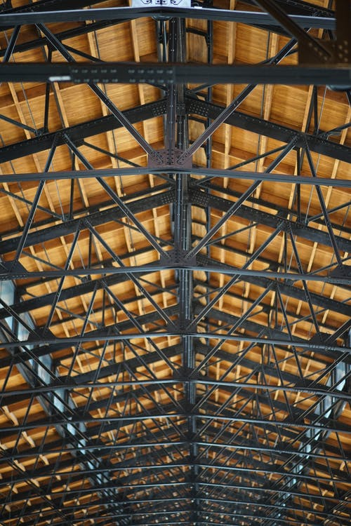 Free stock photo of brown, building, ceiling, iron