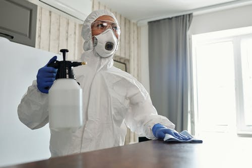 Photo Of Person Wearing Protective Suit