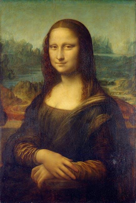 Mona Lisa Painting 183 Free Stock Photo