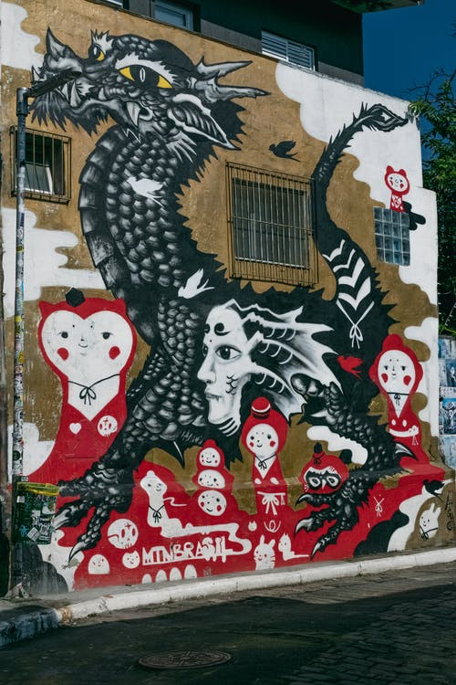 grafitti, Sanat, sanat arka plan, Sanat Galerisi içeren Ücretsiz stok fotoğraf