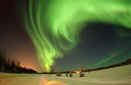 Winter in Anchorage Alaska