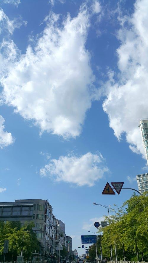 Immagine gratuita di azzurro, cielo azzurro, cielo nuvoloso, cielo sereno