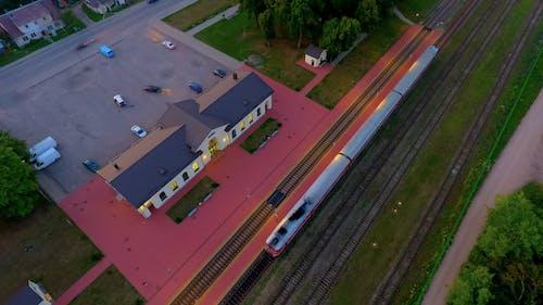 Free stock photo of lithuania, train station, train tracks