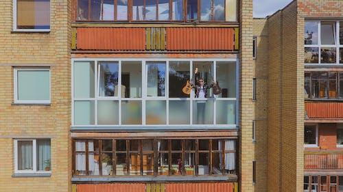 Free stock photo of architecture city, drone camera, drone controller