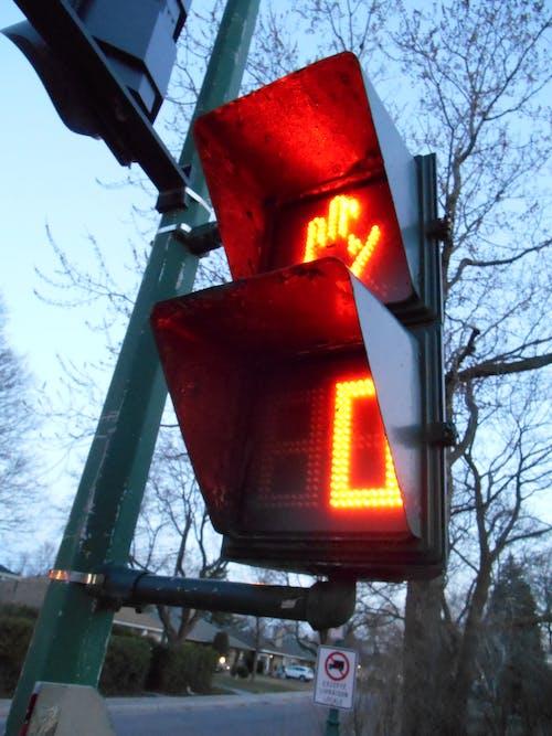 Безкоштовне стокове фото на тему «feux rouge, lignt, limiã¨re, paneau»