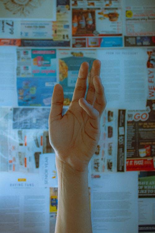Бесплатное стоковое фото с кожа, крупный план, ладонь